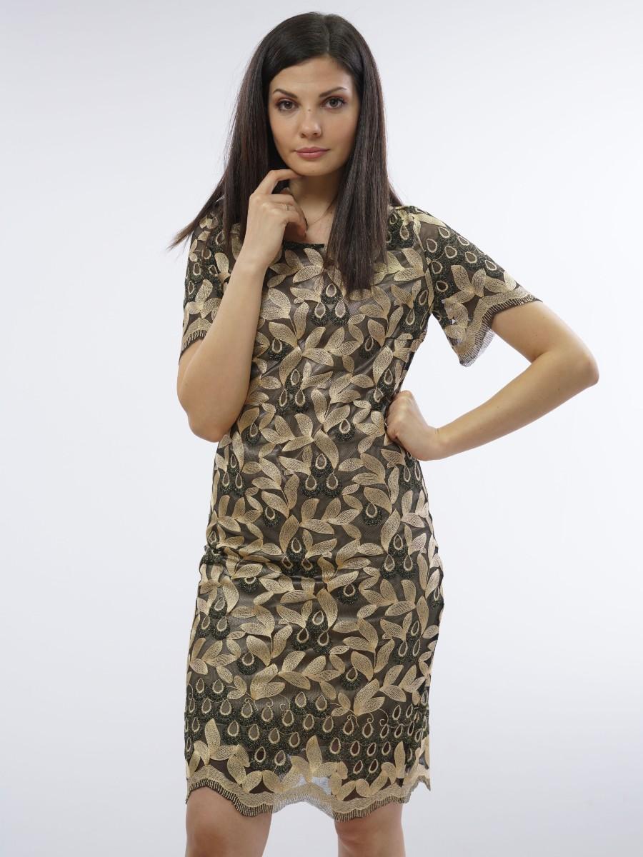 Eлегантна рокля от дантела