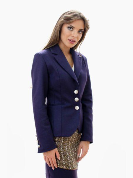 Дамско лилаво сако