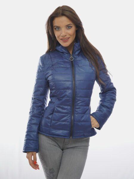 синьо късо яке