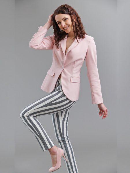 дамско розово сако