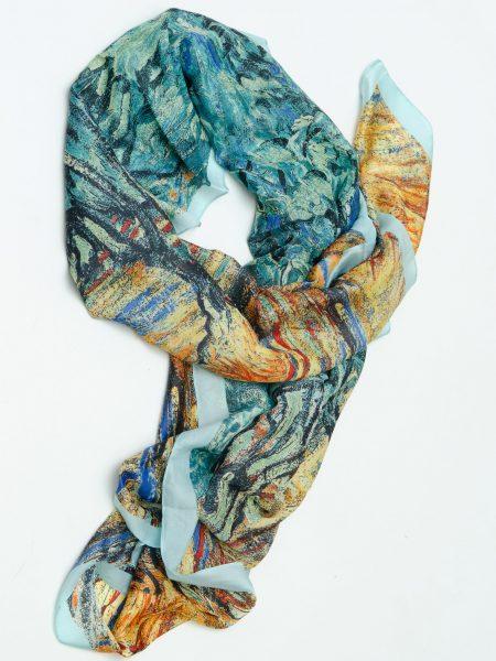 шал от коприна