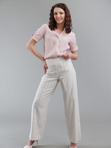 ленен дамски панталон