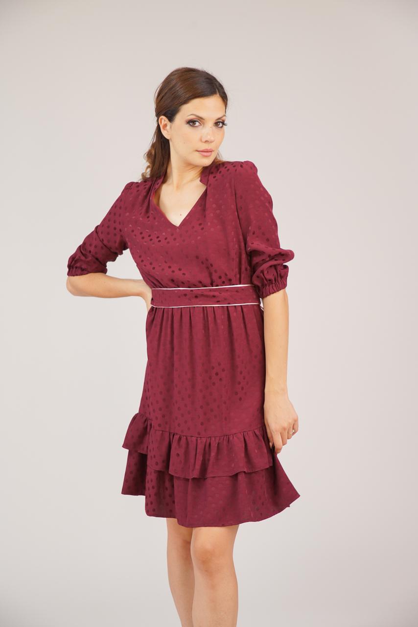 рокля бордо